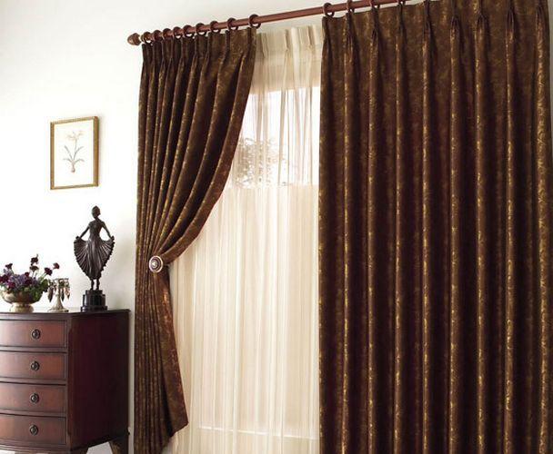 Как подшить ночные шторы
