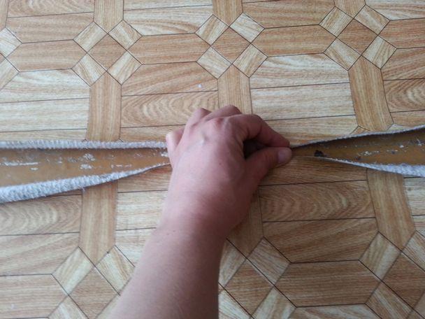 Настил линолеума своими руками