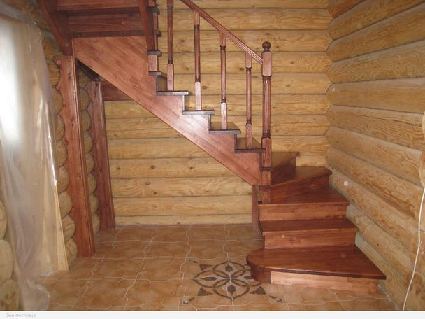 Ремонт лестниц в доме своими руками