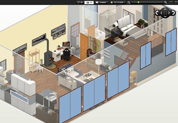 Дизайн квартиры онлайн своими руками
